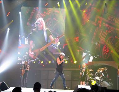 AC/DC Y SU ESCENARIO