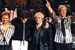 Duran Duran en presentación