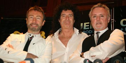 Queen con su nuevo vocal Paul Rodgers