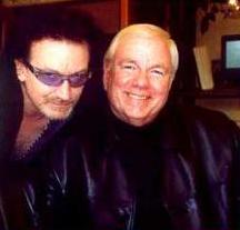 Bono con Frank Sinatra