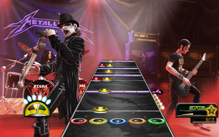 "King Diamond en ""Guitar Hero: Metallica"""