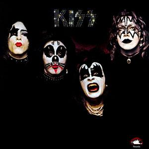 Kiss mostrándose al mundo con su primer álbum