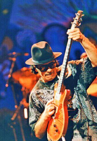 Santana en acción