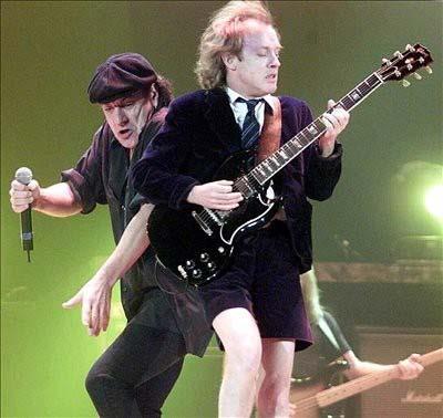 AC/DC graba su nuevo video