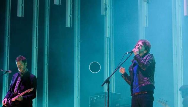Radiohead en vivo en México (foto de El Universal)