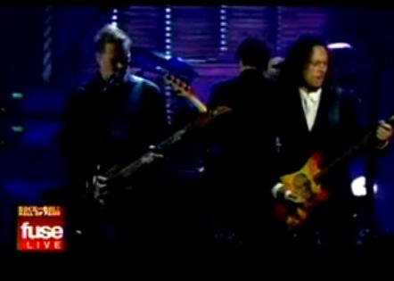 Metallica en vivo tocando Master of Puppets