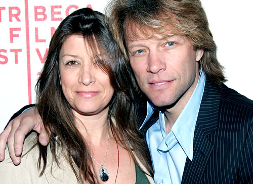 Jon Bon Jovi y su amada esposa
