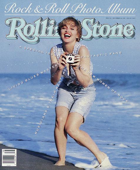 Aquí Madonna se ve muy cachetona
