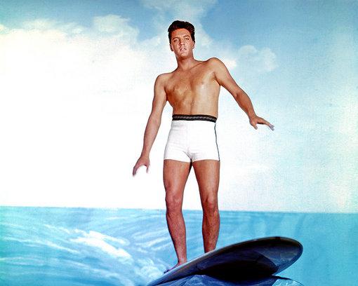 Elvis Presley en Honolulu en una imagen para recordar