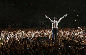 Depeche Mode hizo vibrar Tel Aviv