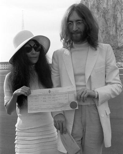 John Lennon y Yoko Ono unidos hasta la muerte