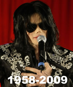 Michael Jackson en una de sus últimas fotos