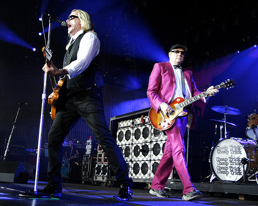 Cheap Trick recordando sus grandes hits