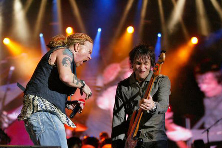 Guns N' Roses en la actualidad