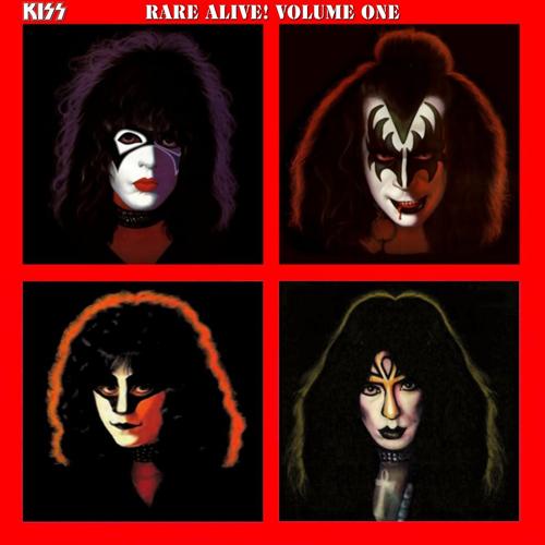 Kiss en una portada que pudo existir en sus discos oficiales