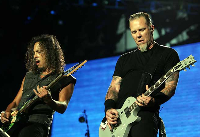 Metallica en acción en México
