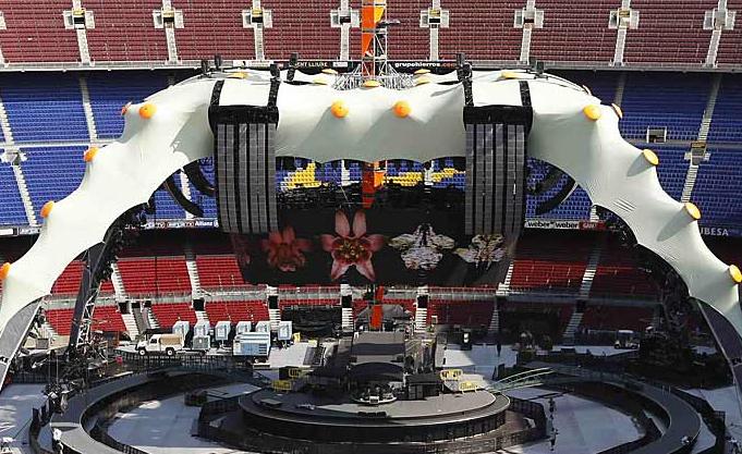 Gran escenario de U2