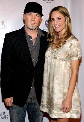 Fred Durst y su flamante esposa