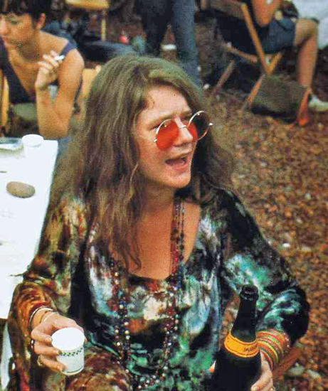 "Janis Joplin era la gran ""bruja cósmica"""