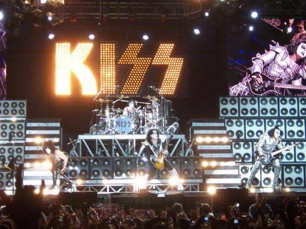 Kiss despertando nostalgias