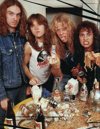 Metallica en los tiempos de Cliff Burton