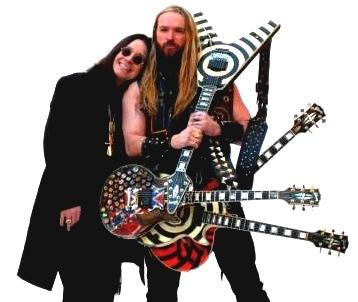 Ozzy Osbourne y Zakk Wylde en los días felices