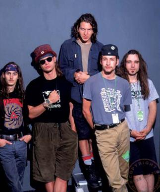 Pearl Jam vestía como tu vecino
