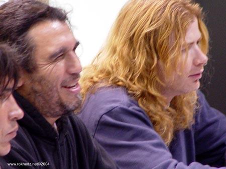 Tom Araya no olvida diferencias con Dave Mustaine