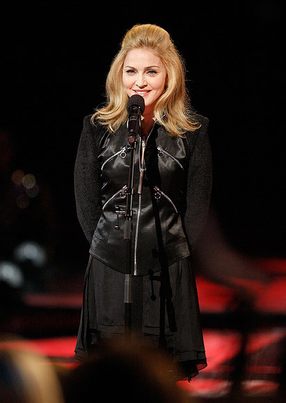 Madonna en su discurso sobre Michael Jackson