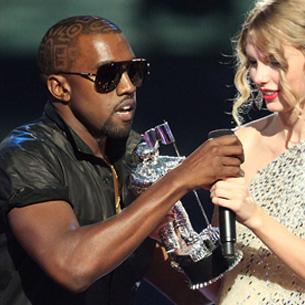 Kanye West le empañó su éxito a Taylor Swift