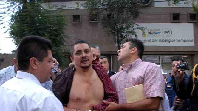 El homicida del Metro de la Ciudad de México ya detenido