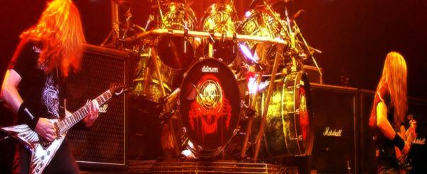 Megadeth en plena acción