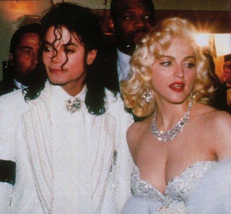 Michael Jackson y Madonna cuando eran más jóvenes