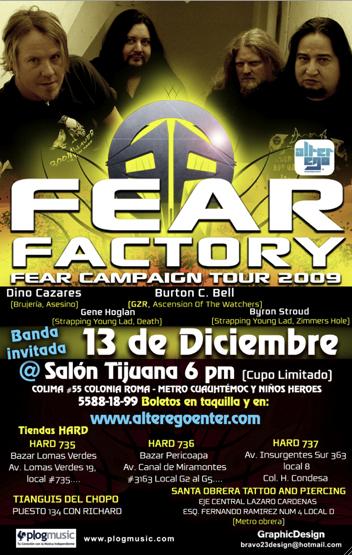 Fear Factory llega a México