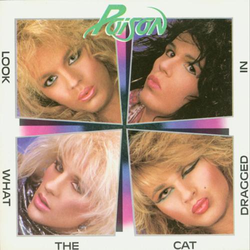 Poison mostrándose al mundo en su primer disco