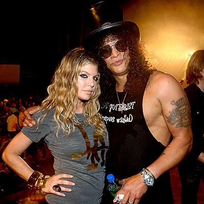 Slash y Fergie ya han trabajado anteriormente juntos