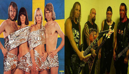 Abba hizo pop y Slayer   es rock metal