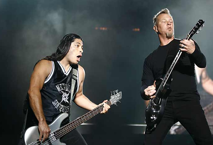 Metallica con sus fans en el 3 de Marzo