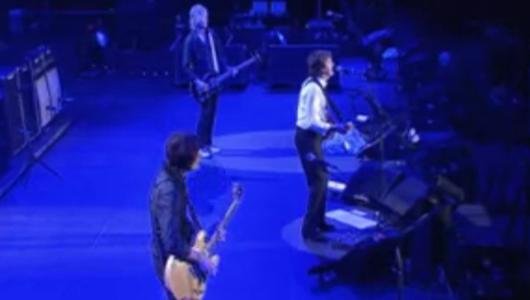 Paul McCartney y su banda