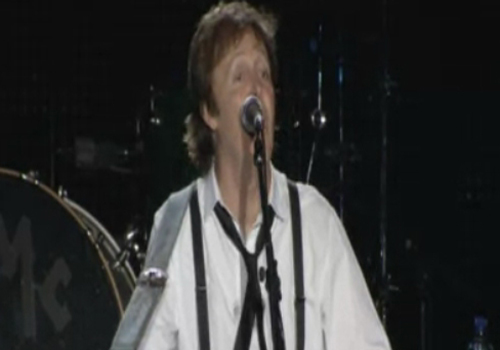 Paul McCartney provocó eurofia en la red