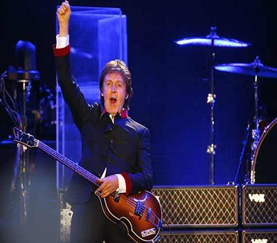 McCartney dio tres horas de concierto en el Foro Sol (Foto Cortesía Reforma)