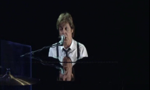 Paul McCartney en el piano es un maestro