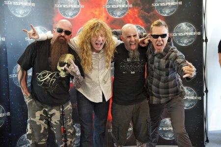 Leyendas del thrash metal juntas