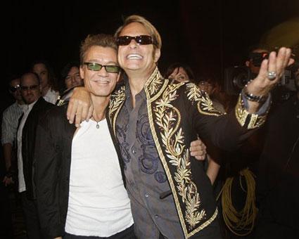 """Eddie y David, quien los viera ahora tan """"hermanos"""""""