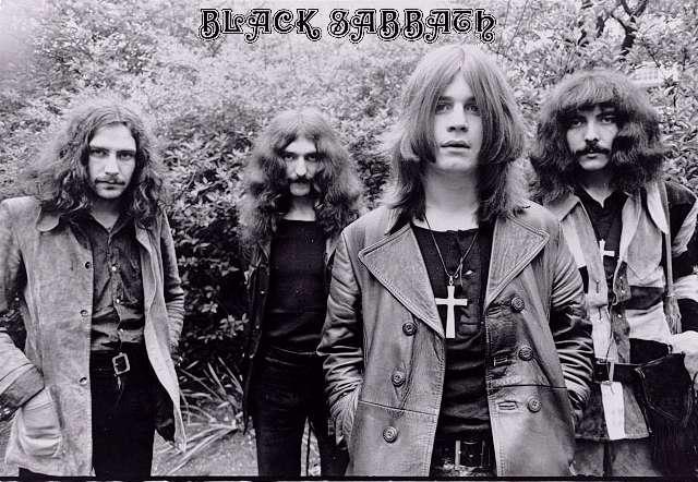 Black Sabbath en sus años mozos