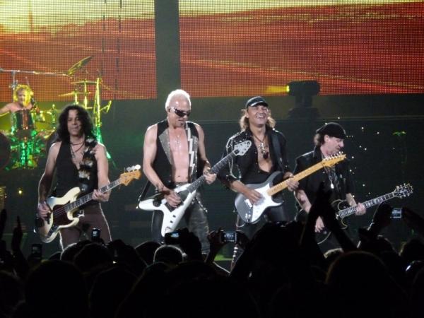 Scorpions no debería salir aún de los escenarios