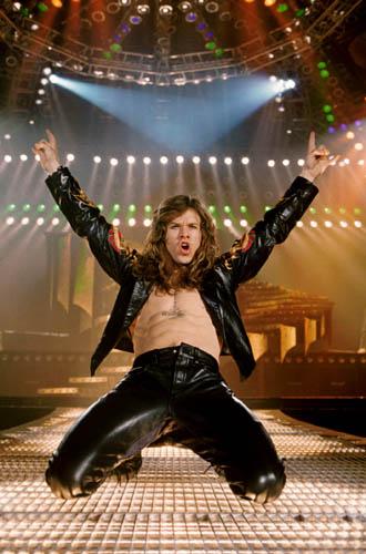 Un rock star de película