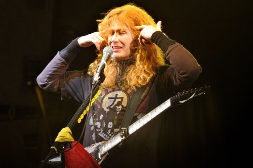 """Dave Mustaine se ha vuelvo un poco """"fresa"""""""