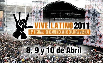 Vive Latino 2011 por Internet