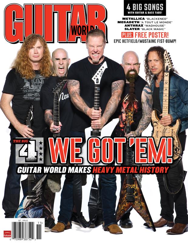 Los grandes del heavy metal en una portada histórica